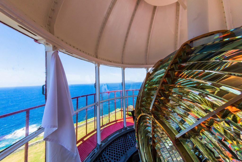 Im Innern eines Leuchtturmes - Insel Flores