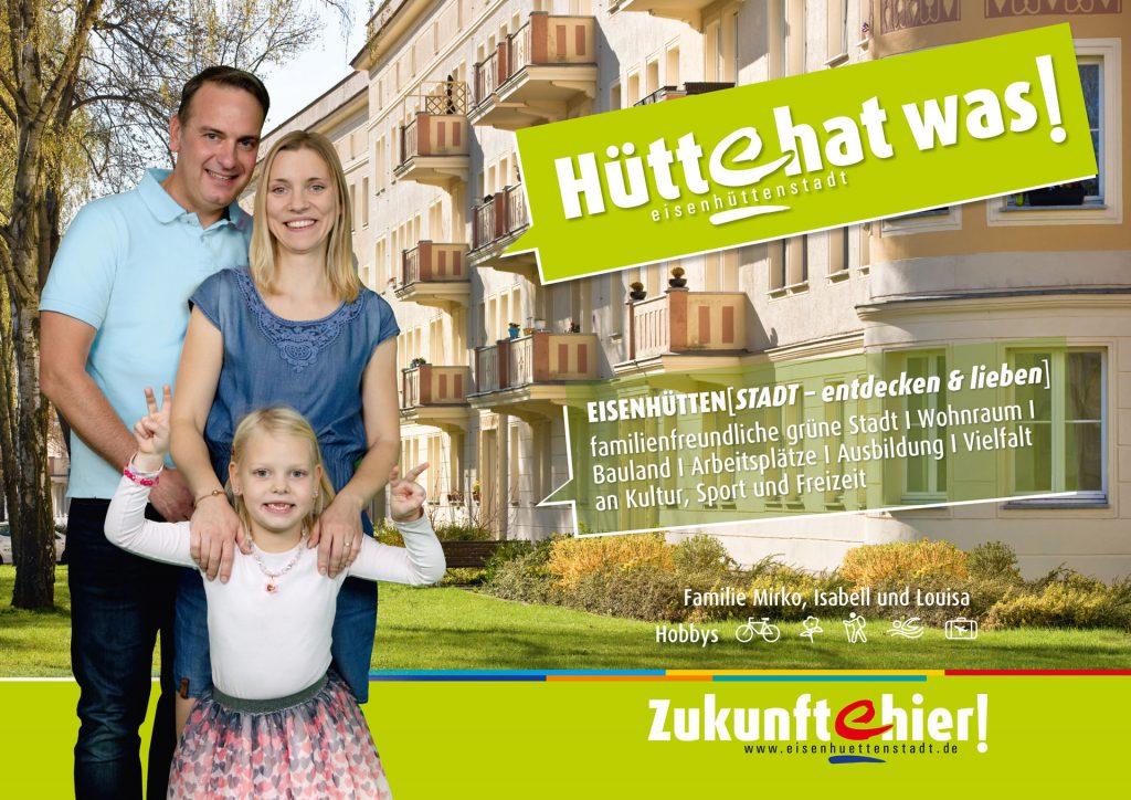 Willkommen in Eisenhüttenstadt - familienfreundliche Stadt im Osten Deutschlands